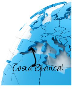 Costa Blanca on map